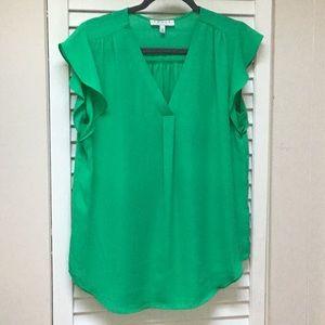 Chaus green blouse